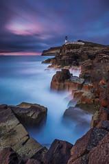 Isle of Skye - Neist Point (Bohumil Daa) Tags: sunset sky colour skye water clouds canon point scotland rocks long exposure unitedkingdom highland gb theme isle 6d neist stottish