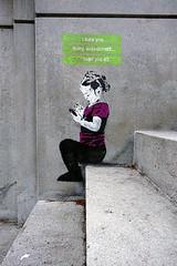 Auto-correct (Edna Winti) Tags: vancouver graffiti coalharbour ednawinti