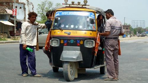 India - Uttar Pradesh - Kushinagar - Auto Rickshaw - 24