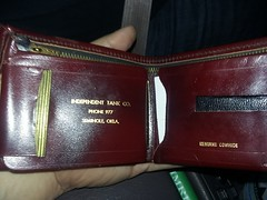 Independent Tank Co. billfold (Michael Vance1) Tags: billfold retail business oil oilfield wallet oklahoma seminole