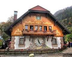 Drubba Cuckoo Clock Factory, Black Forest, Germany (PhotosToArtByMike) Tags: forest germany schwarzwald blackforest cuckooclock mountainrange badenwrttemberg southerngermany wuerttemberg denseforest drubbacuckooclockfactory