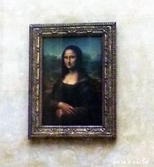 Mona Lisa by Leonardo da Vinci, louvre, paris (rain's child) Tags: travel paris france art museum painting louvre monalisa davinci traveling leonardodavinci