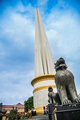 Independence Monument, Maha Bandoola Garden, Yangon (ReinierVanOorsouw) Tags: reizen myanmar birma burma travelling travel travelstoke reiniervanoorsouw sony sonya7r sonya7rii a7rii asia asya azie yangon yangoon rangon rangoon