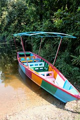 multi-coloured boat (nick taz) Tags: nepal boat multicoloured pokhara rowingboat phewalake