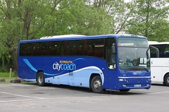 Plymouth Citycoach 315 WA03 MGE (johnmorris13) Tags: volvo coach paragon plaxton citycoach plymouthcitycoach b12m wa03mge