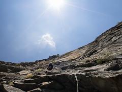 P7031916 (diegobracco) Tags: gianluca arrampicata bourcet multipitch urlodimunch