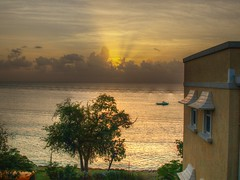 Sunset at Beach View Villas, Barbados (BeattyKen) Tags: barbados brb saintjames