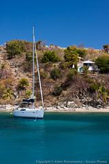 Manchioneel Bay, Cooper Island (3scapePhotos) Tags: travel sea vacation beach vertical sailboat island islands bay boat sailing virgin cooper beaches tropical british caribbean tropics bvi britishvirginislands cooperisland manchioneel