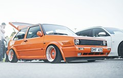 (Mr.Narto) Tags: orange car vw golf 50mm nikon low 14 wheels sigma automotive clean static rims meet lowered carshow slammed stance d800 boosted carporn mk1 carmeet fitment nikonphotography worldcars stanced