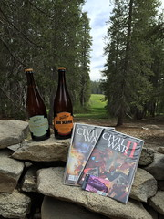 Essentials: Beer & Comics (colonelchi) Tags: california camera wood family trees vacation 6 house mountains tree green home apple grass northerncalifornia rock clouds forest nationalpark big cabin woods rocks escape phone meadow smith sierra smartphone retreat solo rockymountains sierras sierranevada sequoia nationalmonument summervacation sequoianationalpark centralcalifornia privateproperty iphone mountainrange sierranevadamountains weekendretreat bigmeadow weekendvacation weekendescape familycabin sequoianationalmonument iphone6 solovacation