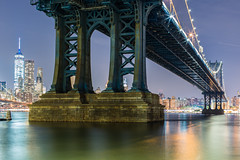 The Manhattan Bridge (cvillandry (Instagram & Twitter @cvillandry)) Tags: city nyc newyorkcity bridge newyork skyline brooklyn manhattan streetphotography manhattanbridge