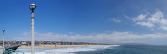 Manhattan Beach Panorama (kristenlanum) Tags: california blue wild summer water aquarium losangeles wildlife manhattanbeach roundhouse