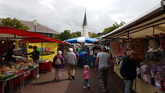 Market (www.routexl.com) Tags: holland tourism church netherlands farmers market tourists delivery driver local markt farmermarket deliverydriver deliveries weekmarkt