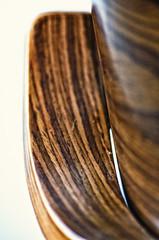 Stripes (garlick.rachel) Tags: wood brown abstract macro texture closeup chair dof furniture stripes smooth walnut mahogany flickrfriday