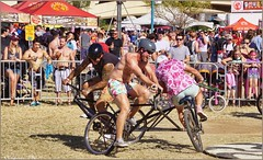 5071 (AJVaughn.com) Tags: park new arizona people beach beer colors bike bicycle sport alan brewing de james tour belgium bright cosplay outdoor fat parade bicycles vehicle athlete vaughn tempe 2014 custome ajvaughn