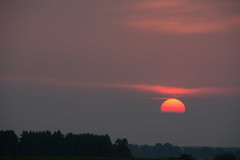sunset (Martin Hamberg) Tags: sunset sky sun evening zonsondergang avond