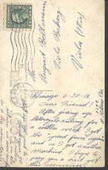 Paul_Hoffmann_friend_of_August_Bellman_2 (Max Kade Institute for German-American Studies) Tags: family handwriting postcard hoffmann familie genealogy script viola handwritten cursive postkarten paulhoffmann bellmann