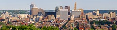 Cincinnati Skyline from Bellevue Hill Park (Travis Estell) Tags: ohio panorama skyline downtown cincinnati cbd centralbusinessdistrict overtherhine cincinnatiskyline carewtower downtowncincinnati krogerbuilding skylinepanorama macysbuilding queencitysquare greatamericantower cincinnatiskylinepanorama