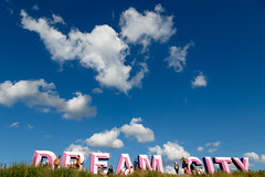 Dream City (Stig Nygaard) Tags: pink blue party summer sky sun colors sign festival clouds catchycolors denmark colorful colours catchycolours hill letters dream wideangle bluesky dreaming lookingup dk creativecommons dreams 7d colourful danmark warmup roskilde campsite deepblue dreamin flickrcolors dnk 2016 roskildefestival smatten rf16 flickrcolours summerdreams 7d2 dreamcity regionhovedstaden dyrskuepladsen orangefeeling photobystignygaard canonefs1585mmf3556isusm 7dii canoneos7dmarkii 7dmarkii roskildefestivalwarmup roskildedyrskueplads lastfm:event=4158922 roskilde16 roskildefestival2016