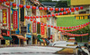 Chinatown Colors (elenaleong) Tags: street signs architecture reflections lanterns shophouses colourfulbuildings singaporechinatown 牛车水 colorfulchinatown