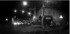 black rose (jsmithington) Tags: streetphotography streetscene street blackandwhite tucson arizona candid