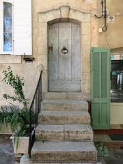 A doorway in Pontevs, Var, Provence, France (Hunky Punk) Tags: dwwg pontevs var provence provencealpescotedazur france steps shutters doorway stone