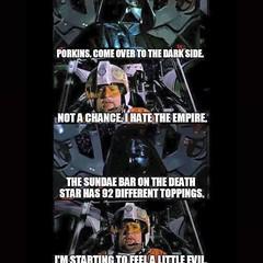 #Xwing #Pilot #Porkins starts to feel the #Darkside...It's dangerous!Repost from @rj_vintage_toys #Skywalker #Rebels #StarWars #Imperial #lukeskywalker #DarthVader #Sith #Jedi #Yoda #TheEmperor #theforceawakens #TheForce #anewhope #movie #recut #y (H5Os_Toys) Tags: original film movie starwars yoda icecream jedi imperial movies parody xwing darthvader lukeskywalker darkside pilot sith skywalker rebels porkins theemperor theforce anewhope jekporkins youtube recut notspecialedition williamhootkins theforceawakens h5ostoy