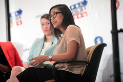 Anna Sterling (Gage Skidmore) Tags: california anna robin ashley center convention carolina sterling pasadena alison yates hurley sanders 2016 grimes symone thede lundergan politicon