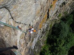 P7031923 (diegobracco) Tags: gianluca arrampicata bourcet multipitch urlodimunch