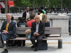 A man and his pooch, Paris