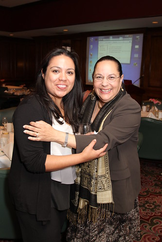 Marisela Robles and Lourdes Baezconde-Garbanati At The SC CTSI Community Advisory Dinner