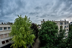 Cloudy Day (antonios.karagiannis) Tags: rain canon day ledefrance cloudy fisheye valdemarne 400d saintmaurdesfosss samyang8mm projectweather lightroom4