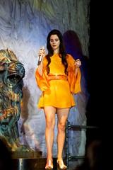 Lana Del Rey On Stage In Milan (Aristotele Strobbe) Tags: music milan lana del born paradise die tour singing cola live milano grant stage forum front row national sing musica rey anthem lizzy assago mediolanum liveinmilan paradisetour lanadelrey