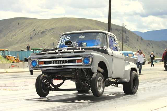 canada ford truck mercury pickup canadian launch dragracing m100 1963 gasser merc dragraces oldtimedrags gassergetdown