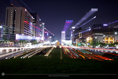 Gwanghwamun Square (MarkDeibertPhotography) Tags: city urban night lights cityscape zoom korea seoul southkorea urbanscape gwanghwamun gwanghwamunsquare