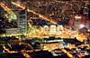 PLAZA BAQUEDANO (Pablo C.M || BANCOIMAGENES.CL) Tags: chile city santiago night noche santiagodechile providencia plazaitalia plazabaquedano cerrosancristóbal