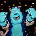 Sulley from Monsters University meets the audience for a special screening at the Festival Theatre