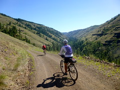 Troy Oregon Loop Ride (Doug Goodenough) Tags: pedals spokes oregon gravel grinder salsa fargo jen scott 2013 13 july summer bike bicycle ride grande ronde forest canyons drg53113p drg53113ptroy2 drg531