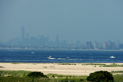 Manhattan Skyline (matthew_thomas_) Tags: park new nyc lake newyork beach bay newjersey pond sand flickr ship manhattan wildlife sandy dune nj national shore gateway jersey hook jerseyshore sandyhook wma wate rocean