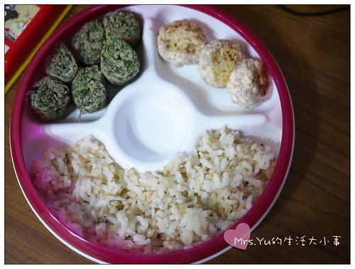 莧菜玉子燒+煎牛肉豆腐丸子