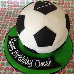 Football Ball Cake