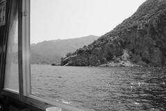 (Caglabaki) Tags: summer bw white mountain black landscape ship view sight marmaris