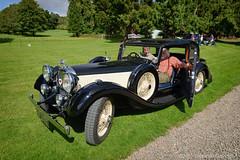 Scottish Alvis Day 2013 - 1934 Alvis Speed 20 C (G Davidson) Tags: scotland classiccar angus rally 1934 alvis houseofdun 2013 speed20 jr2276