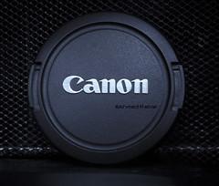 Canon  Cap (© Ahmed rabie) Tags: light black canon silver lens shot led cap shutter
