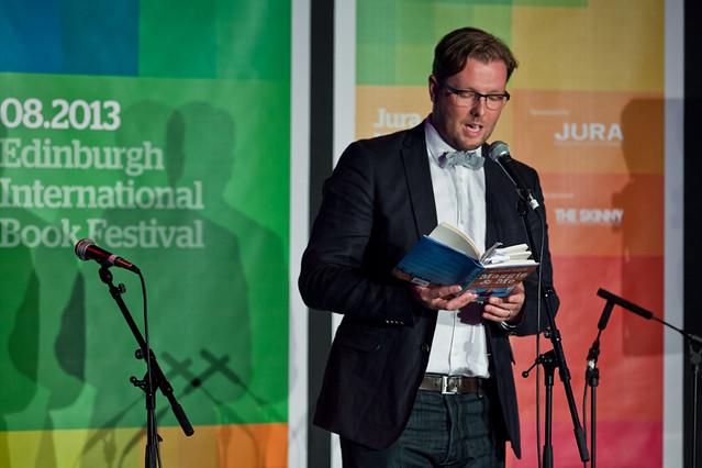 Damian Barr reads at Jura Unbound with Gutter magazine