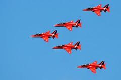 Red Arrows, Dawlish (stavioni) Tags: red plane force air royal aeroplane airshow arrows raf exmouth dawlish