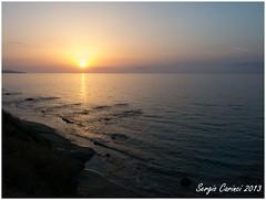 Pizzo - Tramonto (farsergio) Tags: travel sunset sea italy sun beach europa europe italia raw tramonto mare sole viaggio calabria spiaggia vacanza pizzocalabro farsergio vibovalenzia canong15