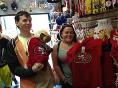 SF 49ers (metalmoonsanctuary) Tags: pictures fishermans 39 peir hunt scavenger iphone wraf