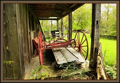 On The Porch (the Gallopping Geezer 3.3 million + views....) Tags: building abandoned mystery rural canon display antique decay michigan rustic structure collection faded worn unknown antiques curious henderson deserted artifacts decayed geezer 2013 tonemap wellkept