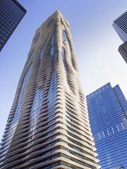 Aqua Tower (DPRPhoto) Tags: chicago architecture buildings travelphotos aquatower blinkagain